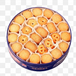 Cookies Of Various Shapes - Danish Pastry Cookie Cake Butter Cookie Tin Can PNG