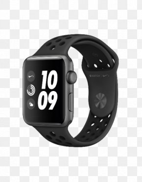Apple Watch Series 1 - Apple Watch Series 3 Apple Smartwatch Watch Nike+ OLED 34.2g Grey Smartwatch, Anthracite Apple Watch Series 2 PNG