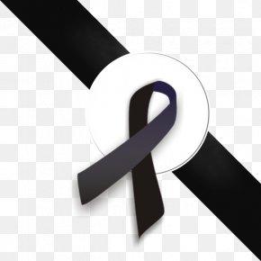 BLACK RIBBON - Black Ribbon Clip Art PNG