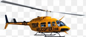 Helicopter - Helicopter Aircraft Airplane Bell 206 Bell 407 PNG