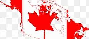 Gun Flag - Flag Of Canada United States Maple Leaf PNG