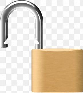Padlock - Padlock Key Clip Art PNG