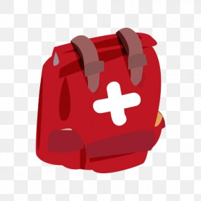 Backpack - Backpack Red Clip Art PNG