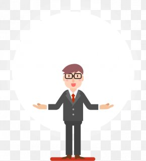 Business Character - Cartoon Character Illustration PNG