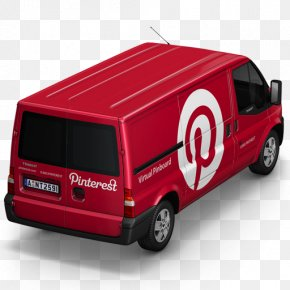 Pinterest Van Back - Commercial Vehicle Minivan Compact Car PNG