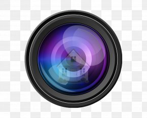 Camera Lens - Camera Lens Video Cameras Clip Art PNG