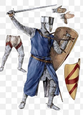Medieval Knife Shield Soldiers - Middle Ages 13th Century 12th Century Knight 15th Century PNG