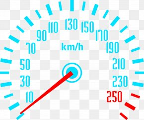 High-speed Code Table Speedometer Picture - Car Dashboard Tachometer Rotational Speed Velocity PNG