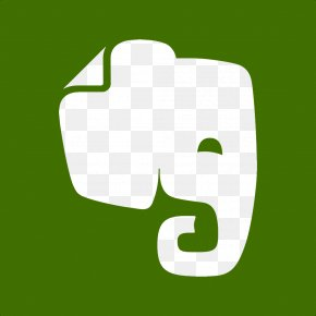 Elephant Icon Svg - Evernote World Wide Web Mobile App PNG