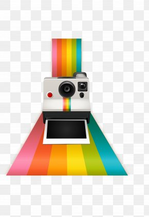 Vector Color Photographed Camera Camera - Instant Camera Photography Polaroid Corporation PNG