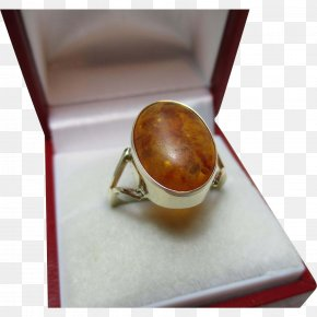 Ring - Ring Amber Gemstone Opal Citrine PNG