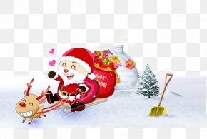 Christmas Snow Santa Claus - Santa Claus Christmas Ornament Christmas Tree PNG