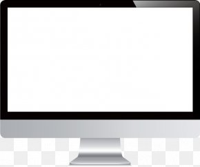 Vector Computer Monitor - Video Computer Network Computer Monitor PNG