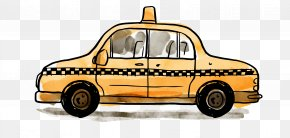Taxi - Statue Of Liberty Taxicabs Of New York City Euclidean Vector Icon PNG