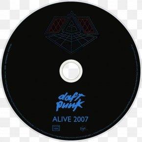 Daft Punk - Daft Punk Alive 2007 Compact Disc Album Fan Art PNG