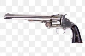 Pistol - American Frontier Weapon Revolver Firearm Gun Barrel PNG
