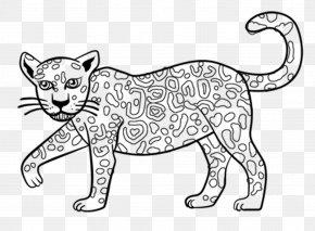 Jaguar - Jaguar Coloring Book Child Drawing PNG