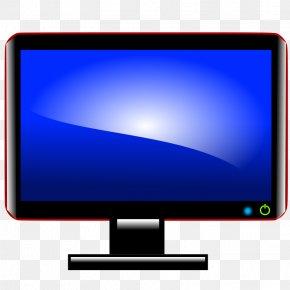 PC Computer Screen - Computer Monitors Liquid-crystal Display Personal Computer Flat Panel Display Clip Art PNG