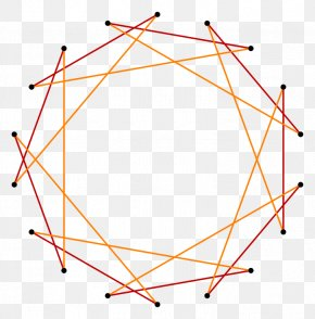 Triangle - Triangle Star Polygon Tetradecagon Hendecagram PNG