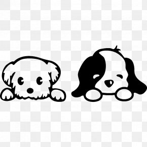 Puppy - Puppy Dog Wall Decal Sticker PNG