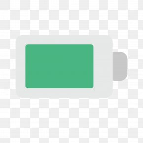 Green Battery - Battery Flat Design Download PNG