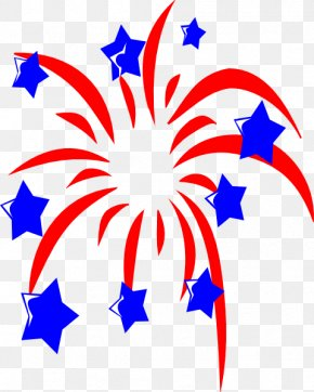 Patriotic Camping Cliparts - Independence Day Fireworks Clip Art PNG