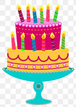 Birthday Clip Art - Birthday Cake Tart Clip Art PNG