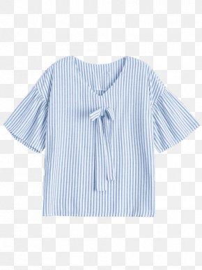 T-shirt - T-shirt Blouse Collar Sleeve Outerwear PNG