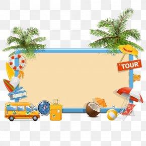 Holiday Tools - Summer Vacation Clip Art PNG
