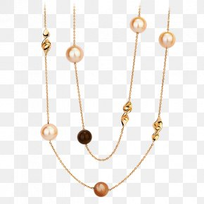Jewellery - Pearl Body Jewellery Necklace Jewelry Design PNG