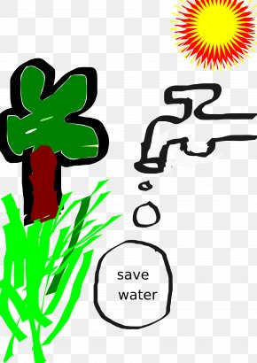 SAVE - Water Efficiency Tap Clip Art PNG