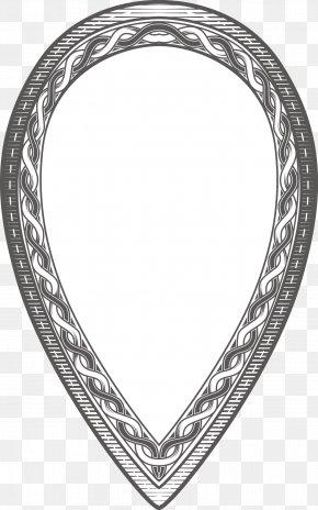 Vintage Vector Border - Black And White Euclidean Vector PNG