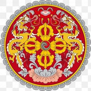 Buddhism - Emblem Of Bhutan Flag Of Bhutan National Emblem National Symbols Of Bhutan PNG