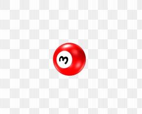 Snooker Photos - Red Circle Font PNG