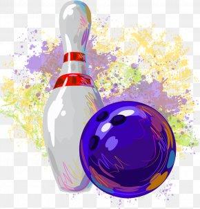 Bowling - Ten-pin Bowling Clip Art PNG