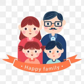 Vector Family Day - Family Parent Child Illustration PNG