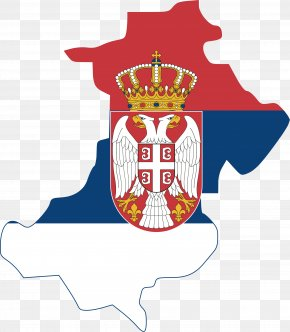 Flag - Flag Of Serbia Serbia And Montenegro National Flag PNG