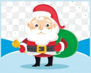Vector Santa Claus - Santa Claus Cartoon Clip Art PNG