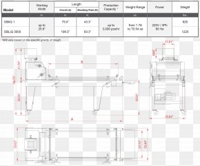 Bread Dough - Technical Drawing Paper Furniture Diagram PNG