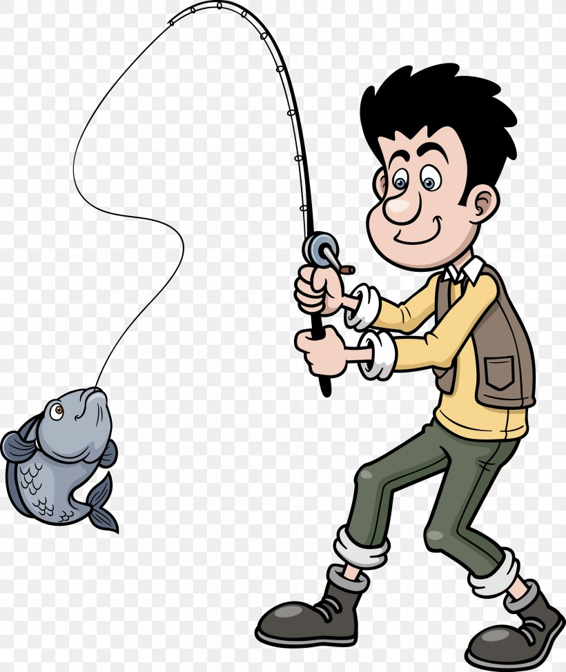 Cartoon Fishing Clip Art Png 2727x3240px Cartoon Animated Series Art Drawing Fictional Character Download Free