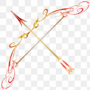 Bow Design Cliparts - Bow And Arrow Drawing Art Clip Art PNG