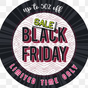 Black Friday Label - Black Friday Advertising PNG