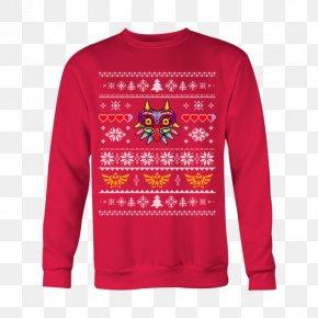 T-shirt - T-shirt Christmas Jumper Hoodie Sleeve Sweater PNG