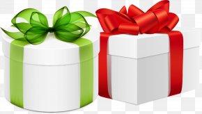 Gift Ribbons - Box Gift Paper Ribbon PNG