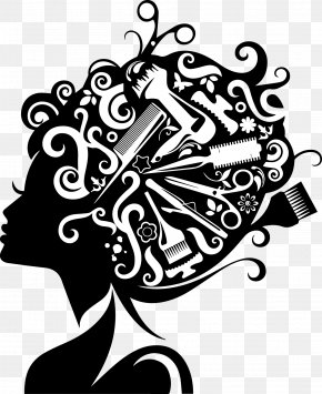 Hairdressing - Comb Hairdresser Beauty Parlour Hairstyle Clip Art PNG