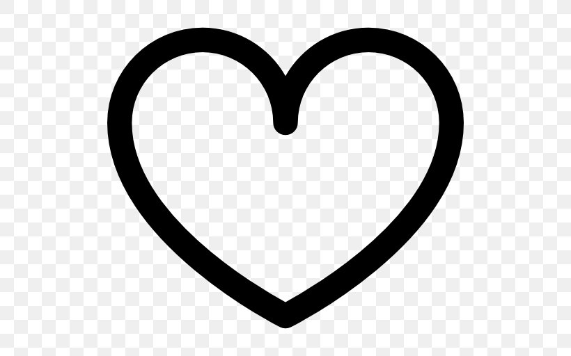 Heart, PNG, 512x512px, Heart, Black And White, Body Jewelry, Love, Monochrome Photography Download Free