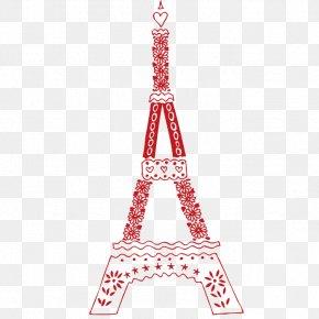 Cartoon Eiffel Tower - Eiffel Tower Party Room PNG