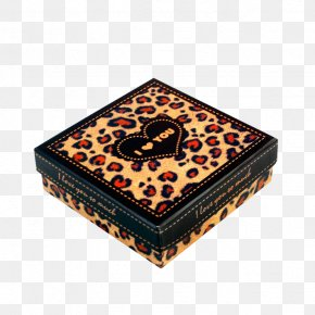 Exquisite Leopard Child Coffee Gift Box - Leopard Box Gift Paper PNG