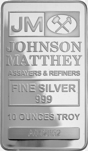Silver - Silver Bullion Ounce Gold Bar Johnson Matthey PNG