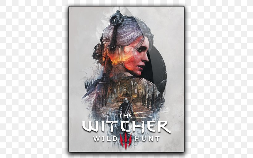 The Witcher 3 Wild Hunt Geralt Of Rivia Work Of Art Poster